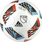 adidas MLS Top Glider Soccer Ball 2016 White/Shock Blue/