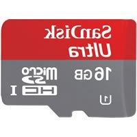 SanDisk 16GB Mobile ULTRA microSDHC Card w/ Adapter