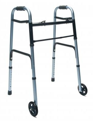 MOBILITY - Lumex ColorSelect Adult Walker with Wheels #