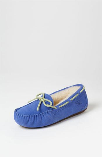 Toddler  'Dakota' Moccasin Deep Periwinkle 13 M