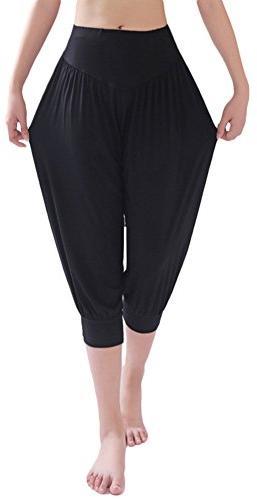 Womens Modal Cotton Soft Yoga Sports Dance Harem Pants,