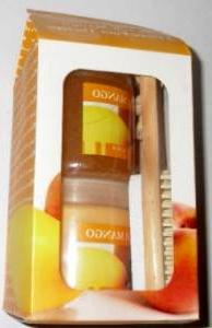 Moisturizing Peach Mango 3 Piece Foot Therapy