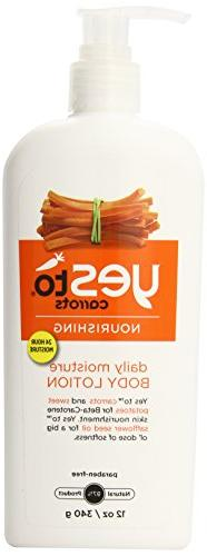 Yes To Carrots Daily Moisture Body Lotion, 12 Fluid Ounce