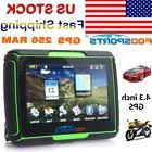 "Motorcycle 4.3"" GPS Navigator NAV for Bike Car Waterproof"