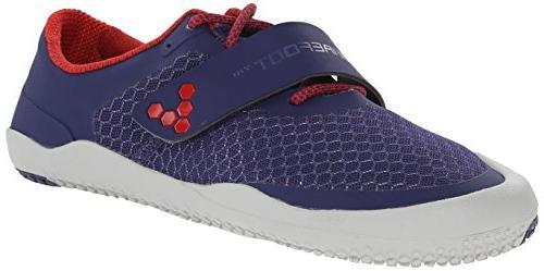 Vivobarefoot Women's Motus Tennis Shoe, Black/Red, 35 EU/5-5