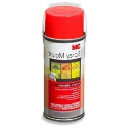 3M Spray Mount Artists Adhesive - 6.00 oz - 1Each - Clear