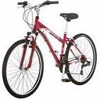 """26"""" Women's Schwinn Mountain Bike Steel Frame 21 Speed Red"""