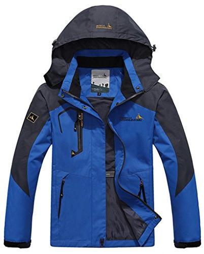Women's Mountain Jacket , 1X, Blue Print