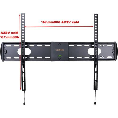 VideoSecu Black Flat Panel TV Wall Mount for most Sanyo 40