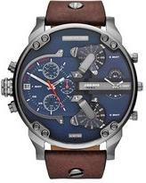 Diesel 'Mr. Daddy 2.0' Chronograph Leather Strap Watch, 57mm
