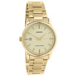 Casio Men's MTPV002G-9A Gold Stainless-Steel Quartz Watch