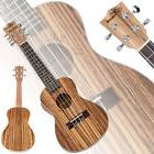 "New 23"" MUH-506 Exquisite Zebra Wood Concert Ukulele Musical"
