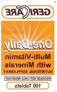 MULTI-VITAMIN WITH MINERALS 100'S