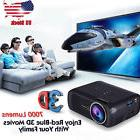 7000 Lumens 1080P HD Multimedia Portable Projector 3D LED