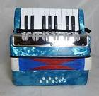 Musical Accordion for Kids Mini Small 17-Key 8 Bass Beginner