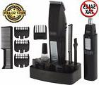 Wahl Mustache And Beard Trimmer Set Hair Cut Clipper Kit Ear
