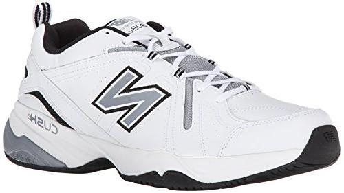 New Balance Men's MX608V4 Training Shoe,Black,11.5 D US
