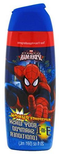 Mzb Spiderman Body Wash 3 Size 20z Mzb Spiderman Body Wash