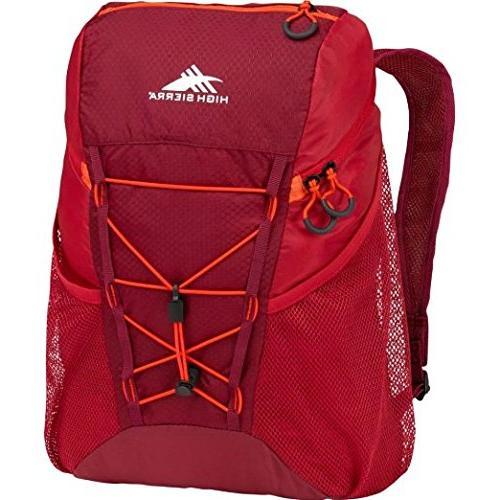 High Sierra Pack-N-Go 2 18-Liter Sport Backpack, Moss/