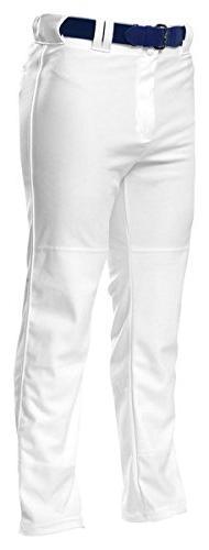 A4 N6162 Pro Style Open Bottom Baggy Cut Baseball Pant,