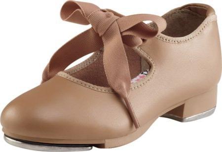 Capezio Women's N625 Jr. Tyette Tap Shoe,Caramel,7 M US