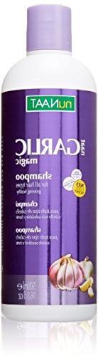 Nunaat Naat Garlic Magic Shampoo, 16.8 Ounce