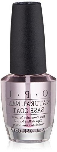 OPI Natural Nail Base Coat Nail Polish, 0.5 fl. oz