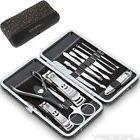 12 pcs Nail Care Manicure Pedicure Kit Cutter Cuticle