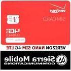 VERIZON NANO SIM Card 4FF • CDMA 4GLTE • Genuine OEM