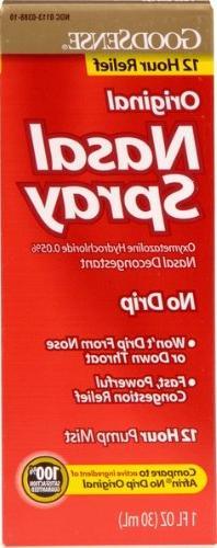 Good Sense Nasal Spray No Drip Case Pack 24