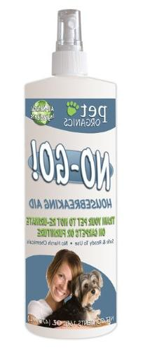 NaturVet DNB04016 No-Go Housebreaking Aid Dog Spray, 16-