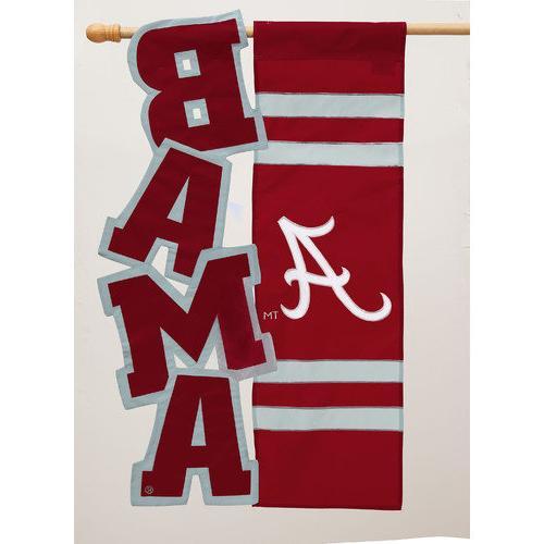 Georgia Bulldogs Applique Sculpted Garden Flag