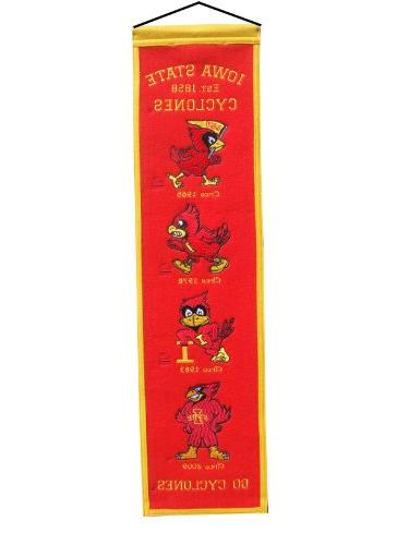 NCAA Iowa State Cyclones Heritage Banner