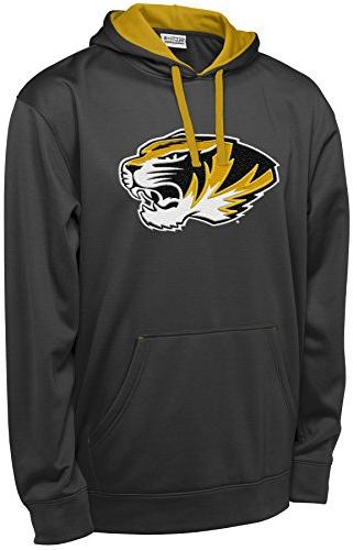 NCAA Missouri Tigers Men's T-Formation 2 Long Sleeve Hooded