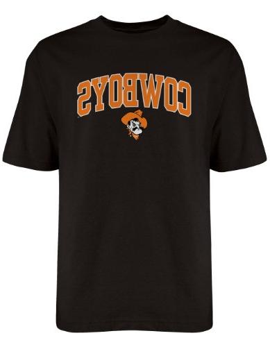 NCAA Oklahoma State Cowboys Gildan T-Shirt, X-Large, Black