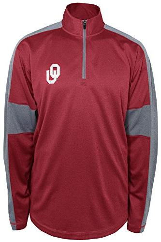 NCAA Oklahoma Sooners Men's Above And Beyond Ling Sleeve