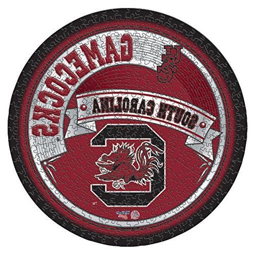 NCAA South Carolina Fighting Gamecocks Short Sleeve Crew