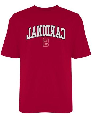 NCAA Stanford Cardinal Gildan T-Shirt, Large, Crimson