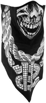 ZANHeadgear Neodanna Mask, Cotton/Neoprene, Lethal Threat,