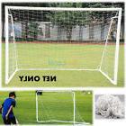 Net 2x 6'x4'Ft  Goal Post Nets for Sports Training Practise