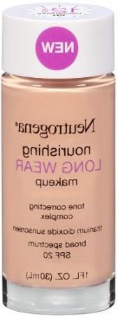 Neutrogena Long Wear Liquid Make-Up, Natural Ivory, 1 Fluid
