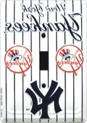 New York Yankees Light Switch Cover