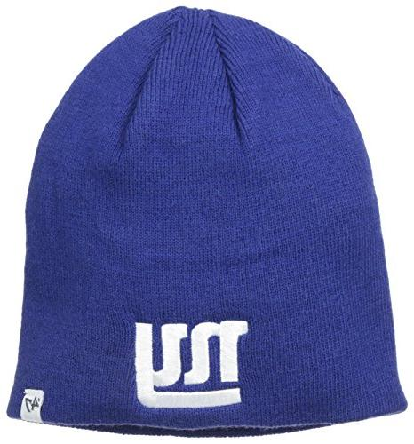 NFL New York Giants '47 Beanie Knit Hat, Royal, One Size