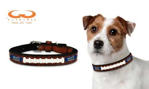 Gamewear Nfl Baltimore Ravens Classic Leather Football Collar Toy ...
