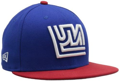 NFL New York Giants Historic Logo 59Fifty Fitted Cap, Blue/