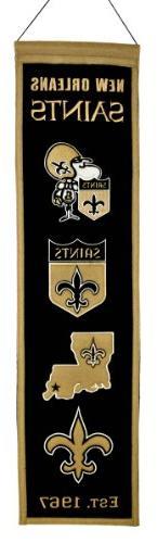 NFL New Orleans Saints Heritage Banner