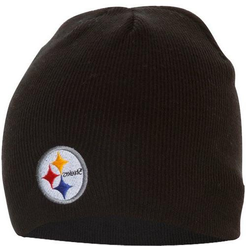 NFL Pittsburgh Steelers '47 Beanie Knit Hat, Black, One Size