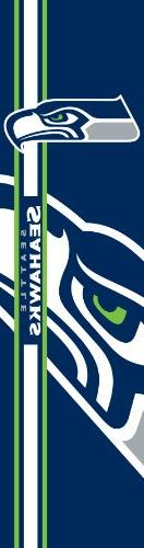 NFL Seattle Seahawks Team Color and Logo Door Banner