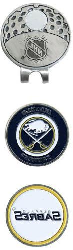 NHL Buffalo Sabres 2 Marker Cap Clip