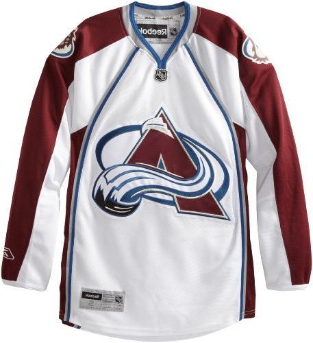 NHL Colorado Avalanche Premier Jersey, Maroon, Small